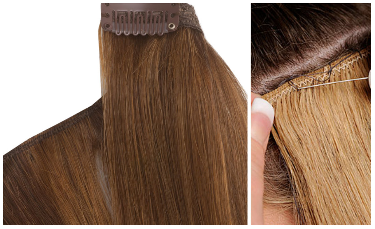 Difference Between Weave Hair Extensions And Clip In Hair Extensions